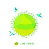 Het ontwerp van Eco Royalty-vrije Stock Afbeelding