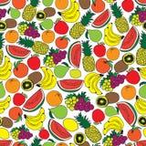 Het ontwerp van het fruitpatroon Stock Fotografie