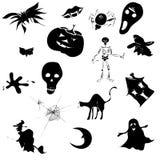 Het Ontwerp van Halloween Stock Foto