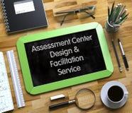 Het Ontwerp van het beoordelingscentrum en het Concept van de Vergemakkelijkendienst 3d Stock Foto