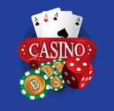 Het Ontwerp van het BitCointhema Royalty-vrije Stock Afbeelding