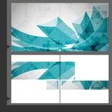 Het Ontwerp van het brochuremalplaatje. Royalty-vrije Stock Foto