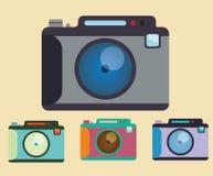 Het ontwerp van het cameramateriaal Royalty-vrije Stock Afbeeldingen