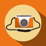 Het ontwerp van het cameramateriaal Stock Foto's