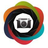 Het ontwerp van het cameramateriaal Royalty-vrije Stock Foto