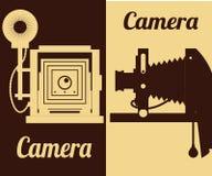 Het ontwerp van het cameramateriaal Royalty-vrije Stock Afbeelding