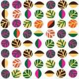 Het ontwerp van het de herfstpatroon Royalty-vrije Stock Afbeeldingen