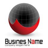Het ontwerp van het embleem Stock Fotografie