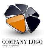 Het ontwerp van het embleem stock illustratie