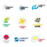 Het ontwerp van het embleem Stock Afbeelding