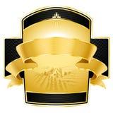 Het ontwerp van het etiket Royalty-vrije Stock Foto's
