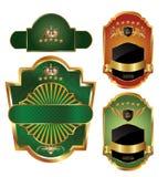 Het ontwerp van het etiket Royalty-vrije Stock Foto