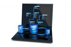 Het ontwerp van het gegevensbestand Stock Fotografie