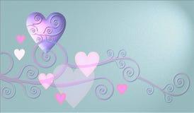 Het ontwerp van het hart Stock Afbeeldingen