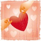 Het ontwerp van het hart Royalty-vrije Stock Afbeeldingen