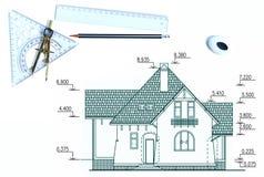 Het ontwerp van het huis Royalty-vrije Stock Afbeeldingen