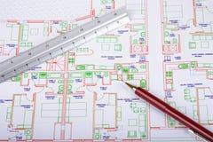 Het ontwerp van het huis Royalty-vrije Stock Afbeelding