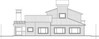 Het ontwerp van het huis stock illustratie
