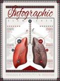 Het ontwerp van het Infographicmalplaatje Royalty-vrije Stock Afbeeldingen