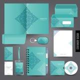 Het ontwerp van het kantoorbehoeftenmalplaatje Royalty-vrije Stock Foto's