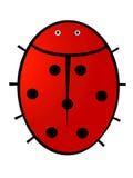 Het ontwerp van het lieveheersbeestje stock illustratie