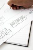 Het ontwerp van het netwerk Royalty-vrije Stock Foto's
