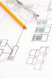 Het ontwerp van het netwerk Royalty-vrije Stock Afbeelding