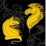 Het ontwerp van het paard - illustratie Stock Afbeeldingen