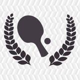 het ontwerp van het pingpongspel Royalty-vrije Stock Afbeeldingen