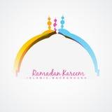 Het ontwerp van het Ramadanfestival vector illustratie