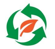 Het Ontwerp van het recyclingspictogram Royalty-vrije Stock Foto