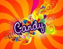 Het ontwerp van het suikergoed Stock Fotografie