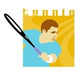 Het Ontwerp van het tennis Royalty-vrije Illustratie