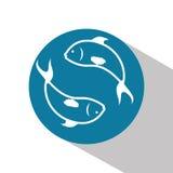 Het ontwerp van het vissencijfer Royalty-vrije Stock Foto's