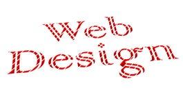 Het Ontwerp van het Web voor Websites Stock Afbeeldingen