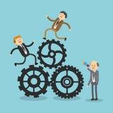 Het ontwerp van het zakenluipictogram Royalty-vrije Stock Afbeeldingen