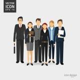 Het ontwerp van het zakenluipictogram Royalty-vrije Stock Fotografie