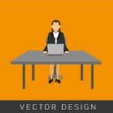 Het ontwerp van het zakenluipictogram Royalty-vrije Stock Foto