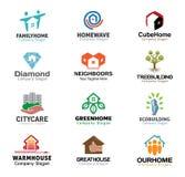 Het Ontwerp van huisvestingsreal estate Stock Fotografie