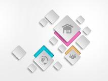 Het ontwerp van Infographic Royalty-vrije Stock Foto