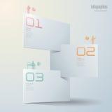 Het ontwerp van Infographics Stock Foto's