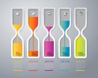 Het ontwerp van Infographics Royalty-vrije Stock Foto