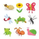Het ontwerp van het insectenkarakter stock illustratie