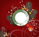 Het ontwerp van Kerstmis. Royalty-vrije Stock Afbeeldingen