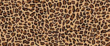 Het ontwerp van het luipaardpatroon stock illustratie