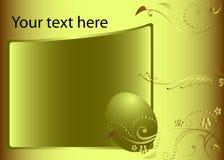 Het ontwerp van Pasen flayer vector illustratie
