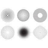 Het ontwerp van punten royalty-vrije illustratie