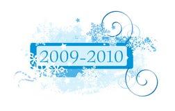 Het ontwerp van sneeuwvlokken Stock Afbeeldingen