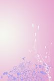 Het ontwerp van Whimsy van bloemen Royalty-vrije Stock Fotografie