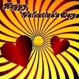 Het ontwerpachtergrond van de valentijnskaartendag Stock Afbeeldingen